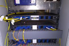 Installation of fibre communication FOBOT