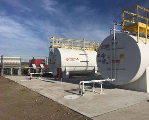 Mine Fuel Storage Control System